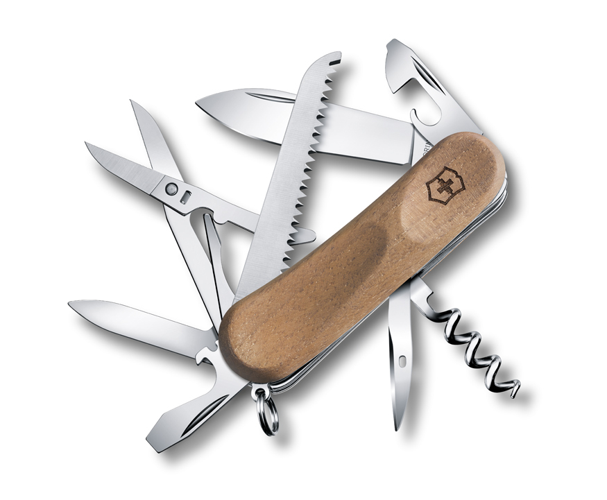 Нож Victorinox EvoWood 17, 85 мм, 13 функ, дерево