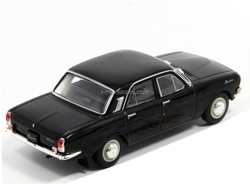 GAZ-24 Volga black 1:43 DeAgostini Auto Legends USSR Best #16