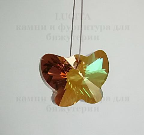 6754 Подвеска Сваровски Бабочка Crystal Copper (18 мм)