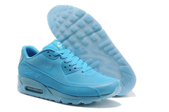 Кроссовки женские Nike Air Max 90 HyperFuse Blue Green Lights