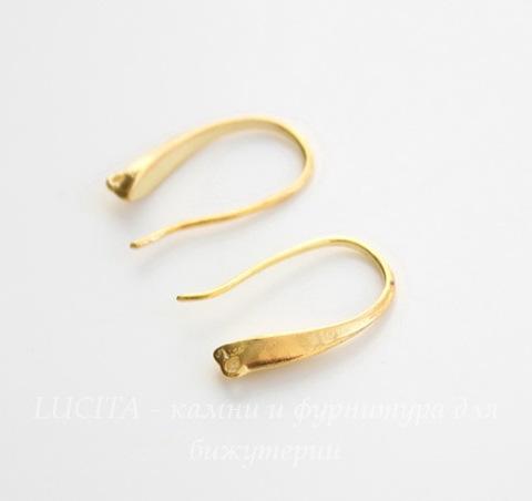 "Швензы - крючки ""Классика"", 19х12 мм (цвет - золото), пара"