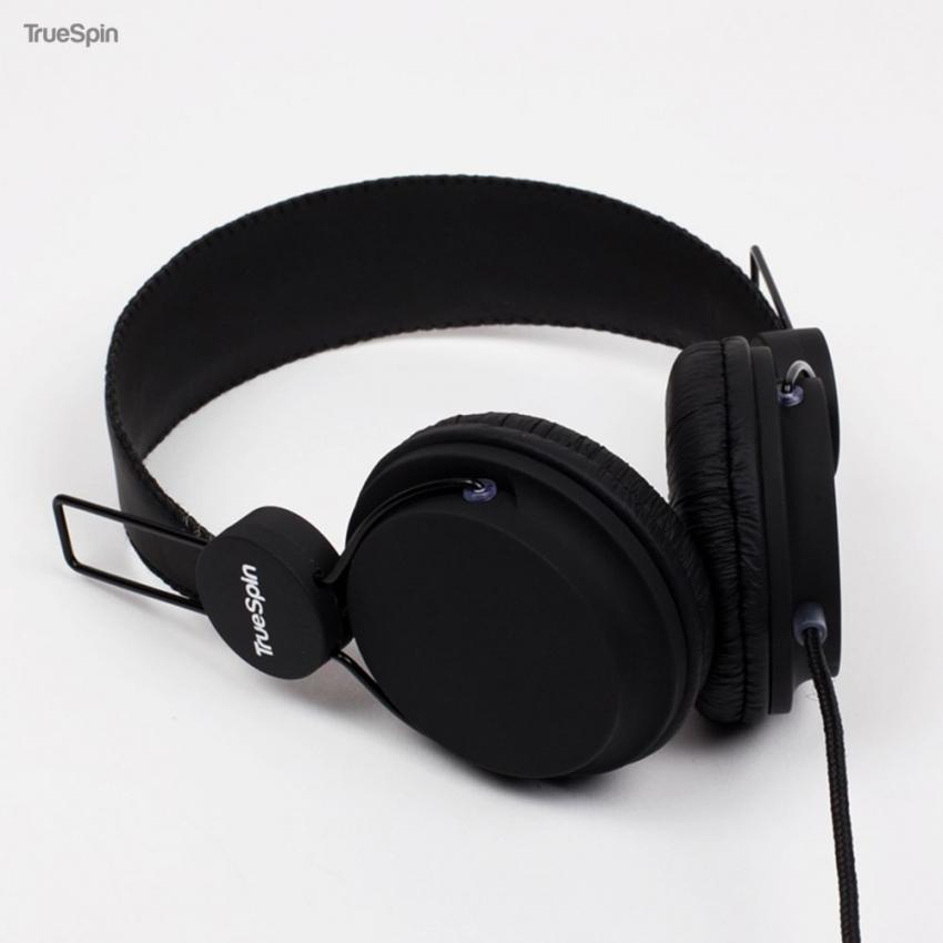 Наушники TRUESPIN BASIC HEADPHONE BLACK