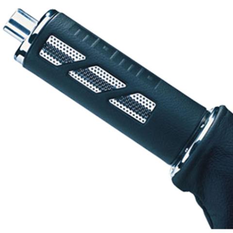 Ручка стояночного тормоза MOMO Pit Lane Leather Airmetal