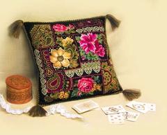 Набор для вышивания Riolis Подушка Цветочная композиция