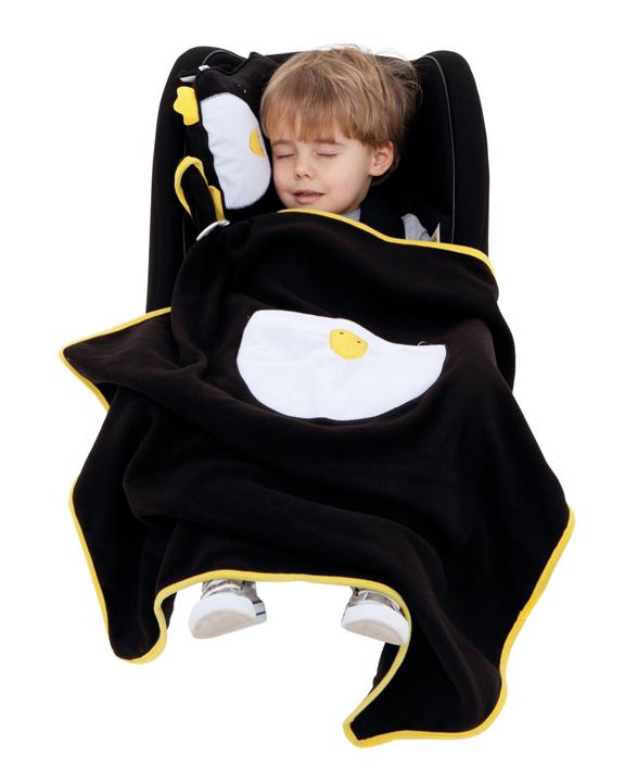 ребенок и TRUNKI Дорожный набор Подушка с пледом