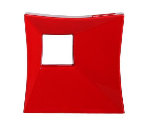 Элитная ваза декоративная красная от Farol
