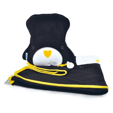 Пингвин TRUNKI Дорожный набор Подушка с пледом