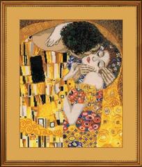 Набор для вышивания Riolis Поцелуй по мотивам картины Г.Климта