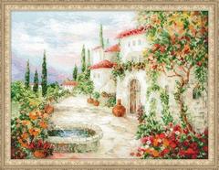 Набор для вышивания Riolis У фонтана
