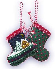 Набор для вышивания Riolis Рождественский сапожок