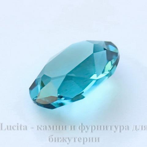 4120 Ювелирные стразы Сваровски Indicolite  (18х13 мм) (без фольги) ()