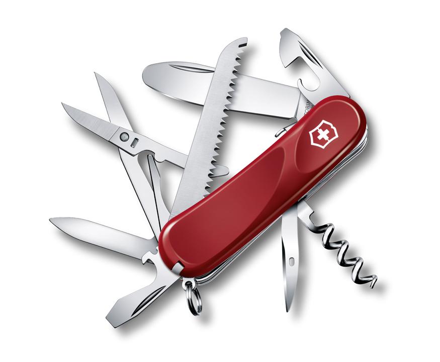 Нож Victorinox Junior 03, 85 мм, 15 функ, красный