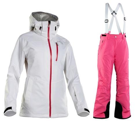 Костюм горнолыжный 8848 Altitude Theia/Isa женский White/Cerise