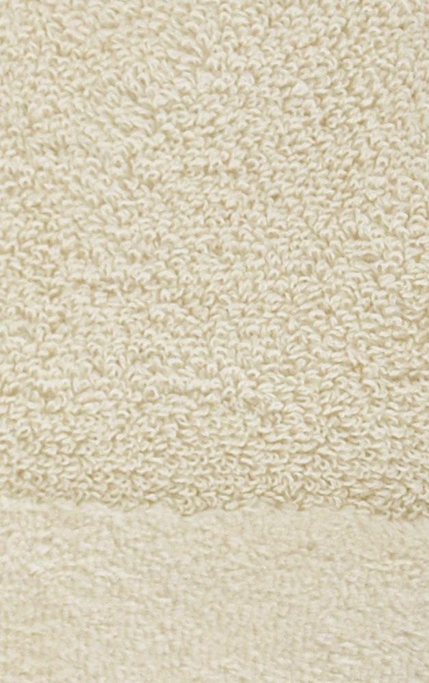 Элитный коврик для ванной Fyber кремовый тонкий от Carrara