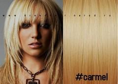 Прядки оттенок  #carmel-карамель