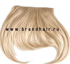 Накладная челка оттенок  #613- блонд