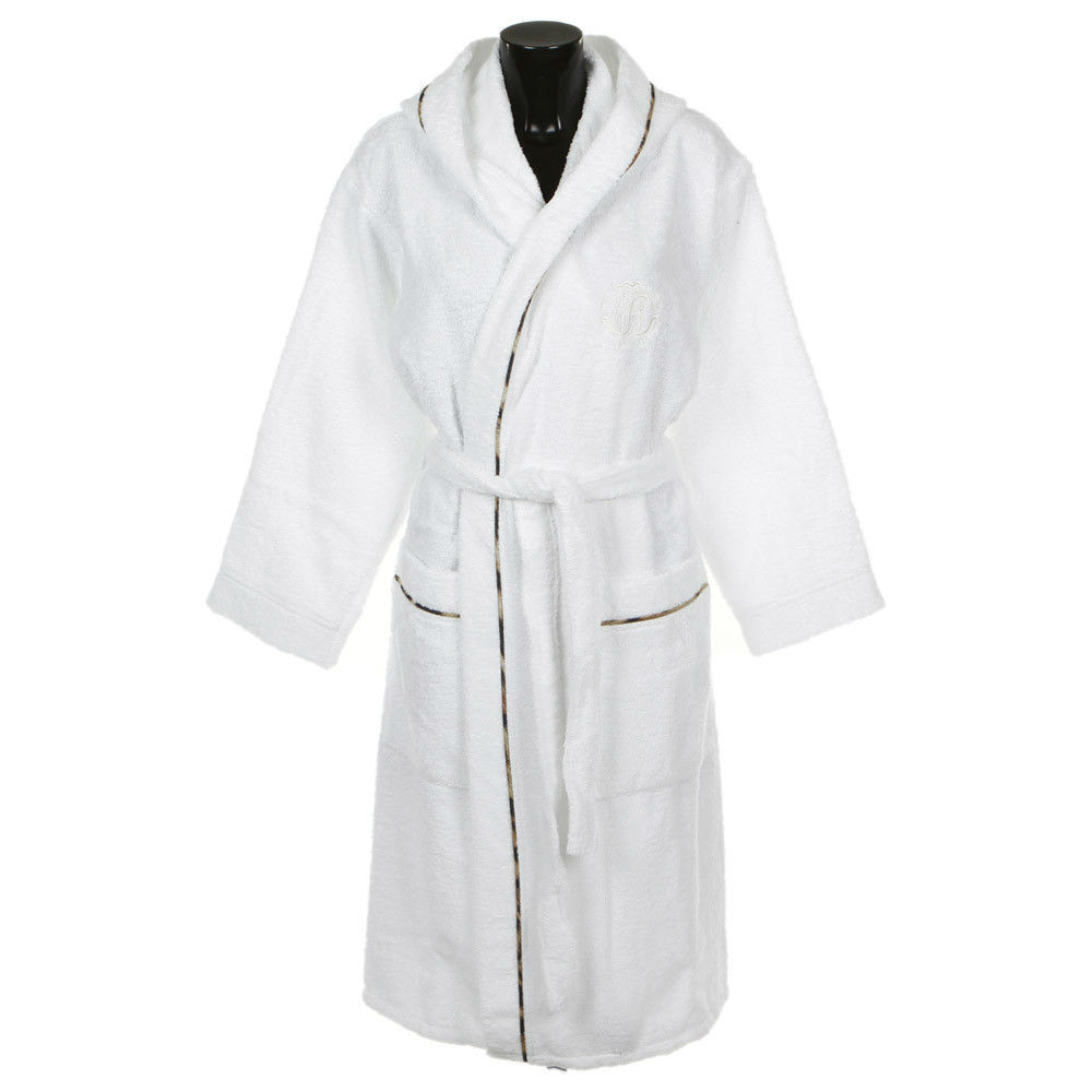 Халаты Халат махровый Roberto Cavalli Basic с капюшоном белый italyansky-mahrovy-halat-basic-ot-roberto-cavalli-3.jpg