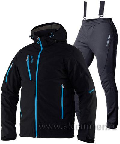 Лыжный костюм 8848 Altitude Recharger Black Noname On The Move