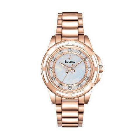 Купить Наручные часы Bulova Diamond 98P141 по доступной цене