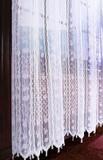 Штора - Органза с вышивкой (белая)