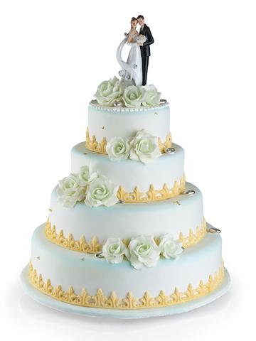 Свадебный торт №4