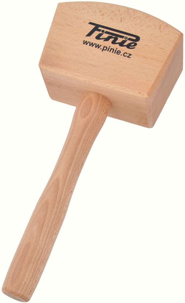 Киянка деревянная квадратная 160х65 мм  Pinie 52-3