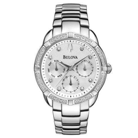 Купить Наручные часы Bulova Diamonds 96R195 по доступной цене