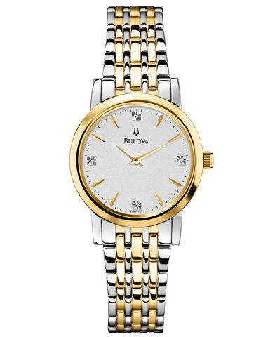 Купить Наручные часы Bulova Diamonds 98P115 по доступной цене