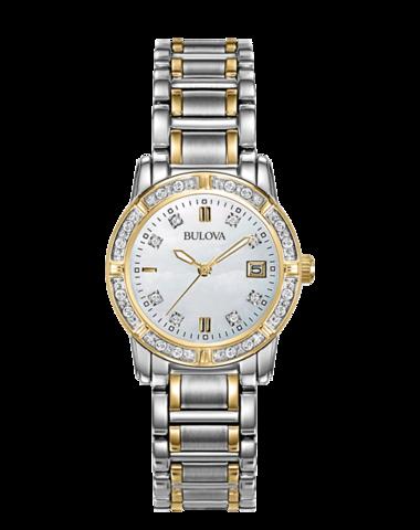 Купить Наручные часы Bulova Diamonds 98R107 по доступной цене