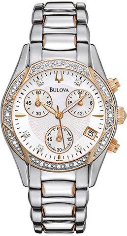 Купить Наручные часы Bulova Diamonds 98R149 по доступной цене
