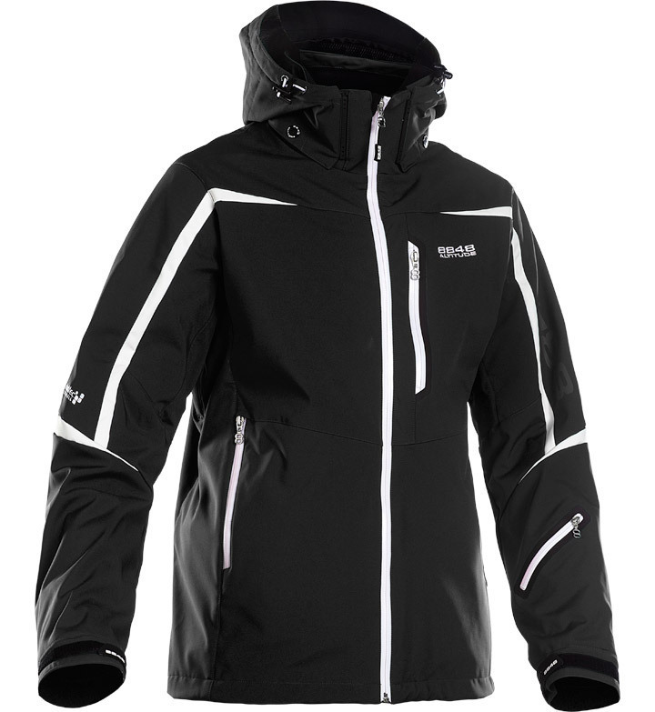 Горнолыжная куртка 8848 Altitude Savage Ski Softshell Black