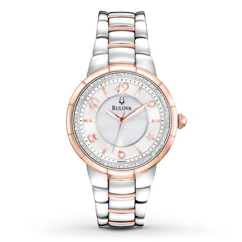Купить Наручные часы Bulova Diamonds 98R162 по доступной цене