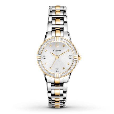 Купить Наручные часы Bulova Diamonds 98R166 по доступной цене