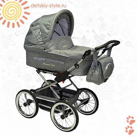 """Коляска Stroller B&E """"Maxima Style XL"""" 2в1"""