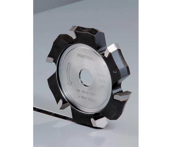 Фреза V-образная пазовая HW 118x14-90°/Alu Festool 491470