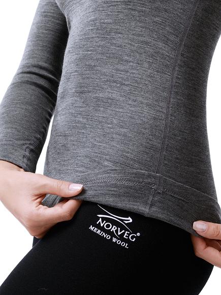 Женская термофутболка с длинным рукавом Norveg Soft Shirt (14SW1RL-014) фото