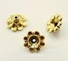 """Шапочка для бусины TierraCast """"Цветок"""" (цвет-античное золото) 11х5 мм"""
