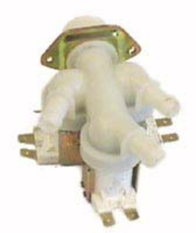 Клапан электромагнитный для стиральной машины - 3Wx180, 481928128236, 481928128252, 481981729026
