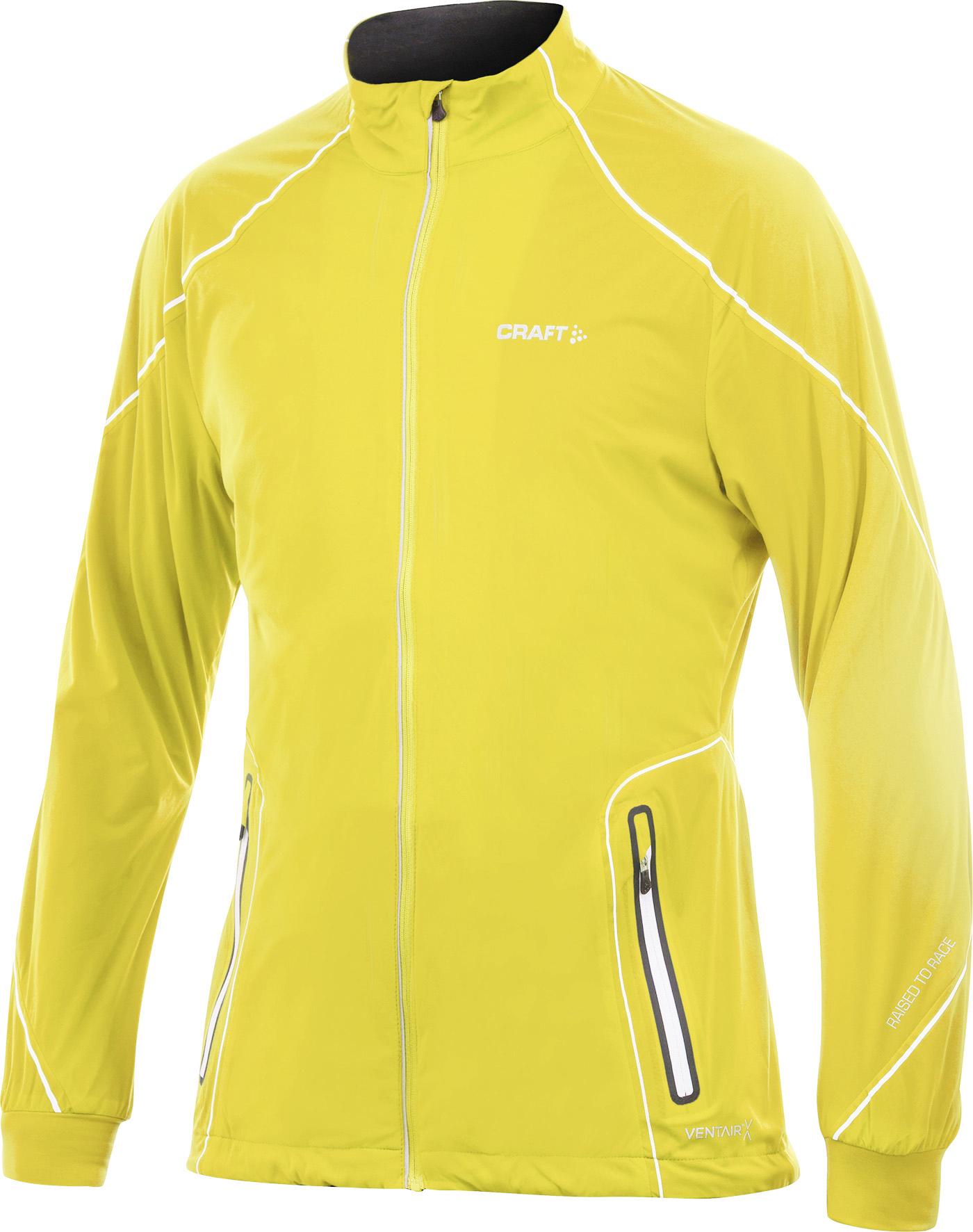 Мужская лыжная куртка Craft Performance XC High Function желтая (1902269-2548)