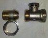 Регулировочный клапан прямой 1/2 на обратную подводку фирмы COMAP 2429