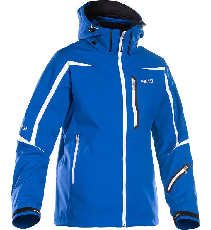 Горнолыжная куртка 8848 Altitude Savage Ski Softshell синяя