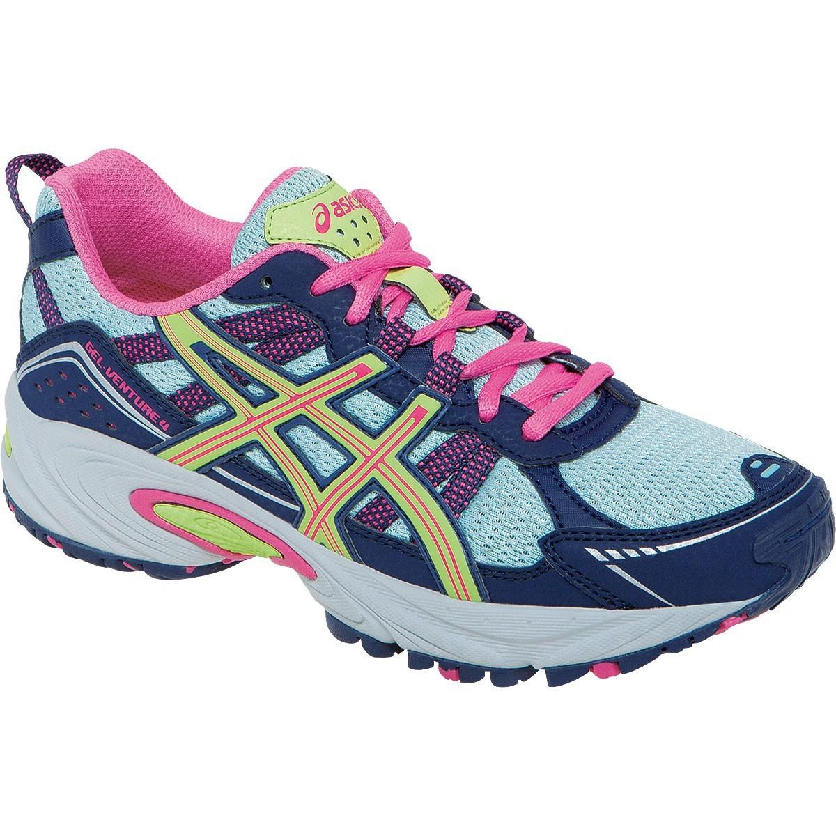 Кроссовки внедорожники Asics Gel-Venture 4 gs подростковые Pink
