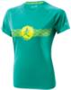 Футболка беговая женская Mizuno DryLite Wave Tee