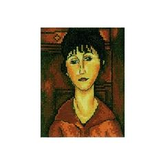 Набор для вышивания Портрет девушки