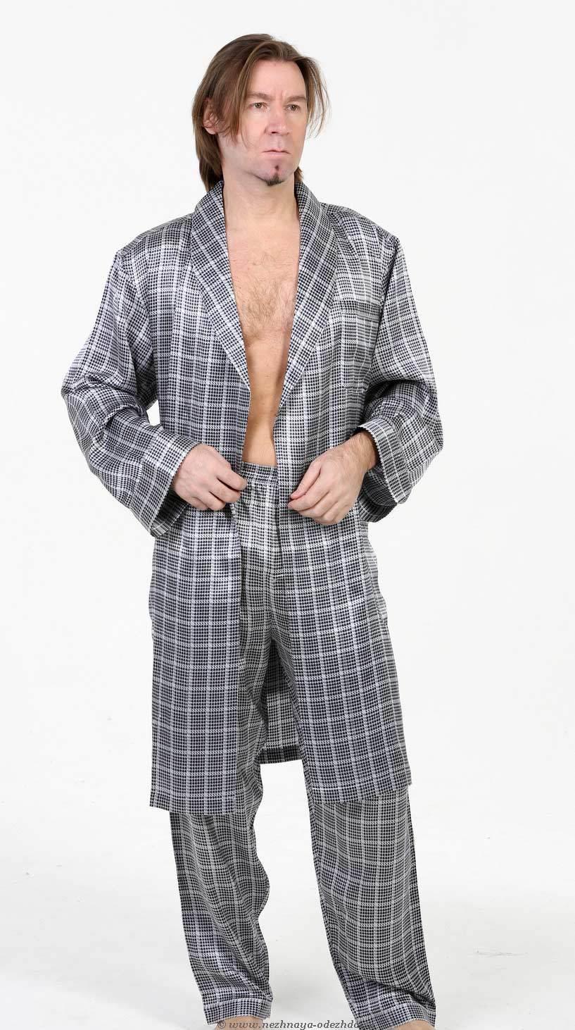 Шелковая мужская пижама Zimmerli