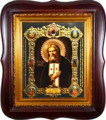 Икона Серафима Саровского Святого Преподобного.
