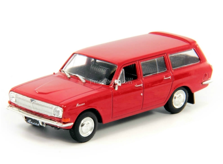GAZ-24-02 Volga dark red 1:43 DeAgostini Auto Legends USSR Best #13