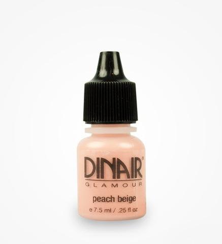 Dinair Peach beige (помада и румяна)