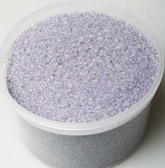 1527-сиреневый песок декоративный (350грамм)