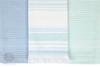 Набор полотенец 3 шт Luxberry Акварель голубой